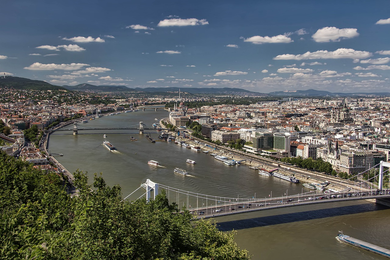 Dunaj v Budapesti